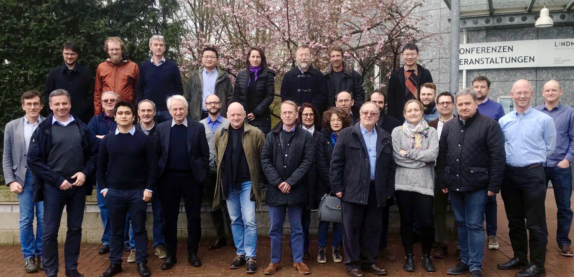 JRA meeting in Düsseldorf