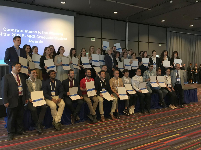 2019 E-MRS Graduate Student Award