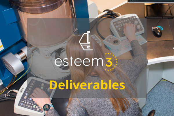 ESTEEM3 - JRA Deliverables