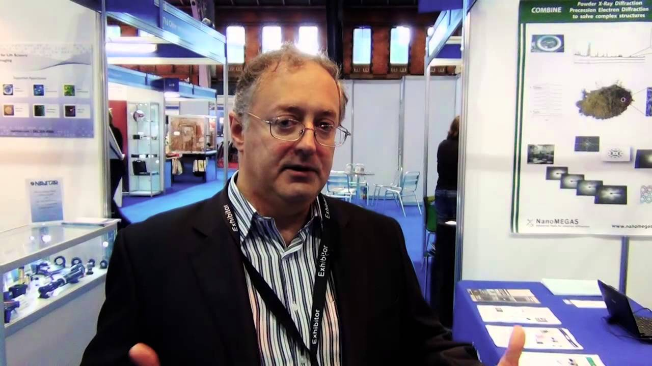 Dr. Stavros Nicolopoulos, Director and founder of NanoMEGAS SPRL