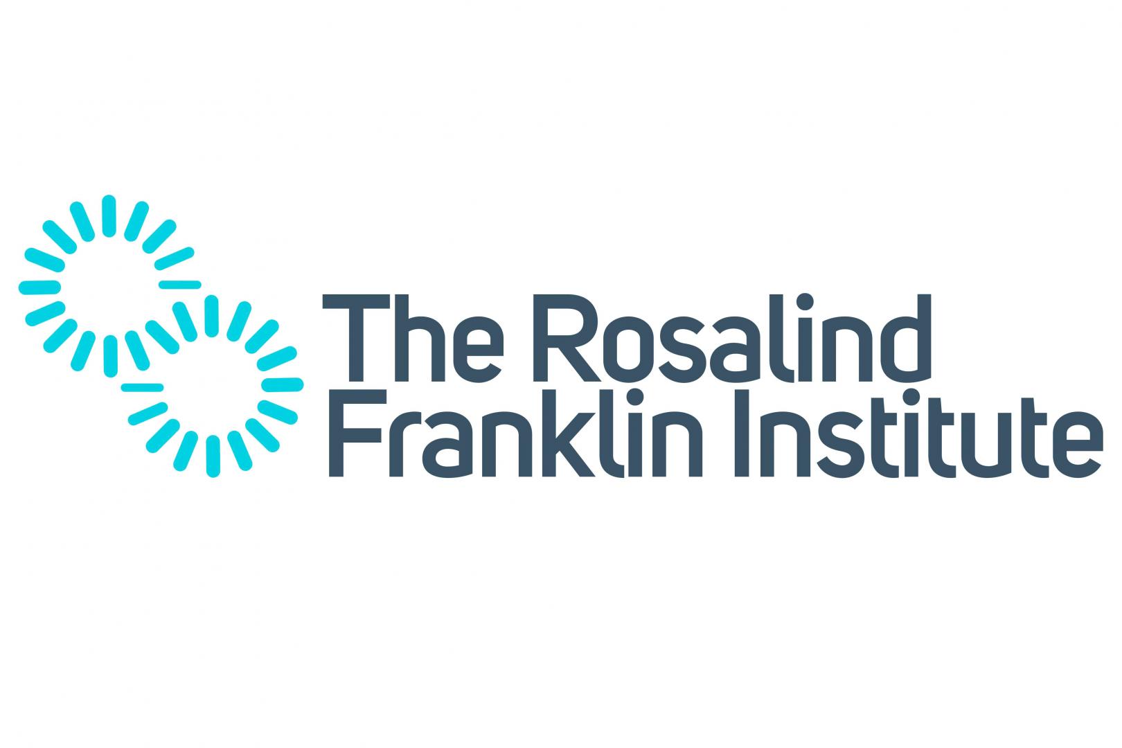 The Rosalind Franklin Institute logo