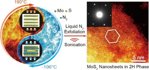 MoS2 Nanosheets in 2H Phase